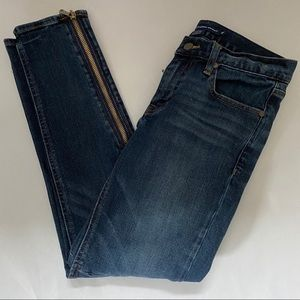 RALPH LAUREN Sport Skinny Zipper Jeans, Size 28.